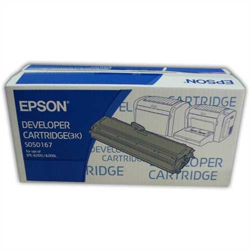 EPSON Toner, C13S050167, original, schwarz, 3.000 Seiten