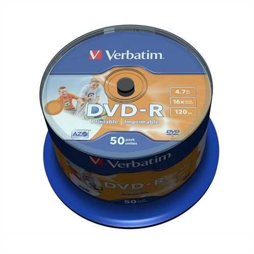 DVD-R Spindel 16x bedruckbar