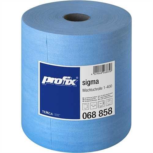 Spezialwischtuchrolle sigma blau 34x36cm 400 Bl
