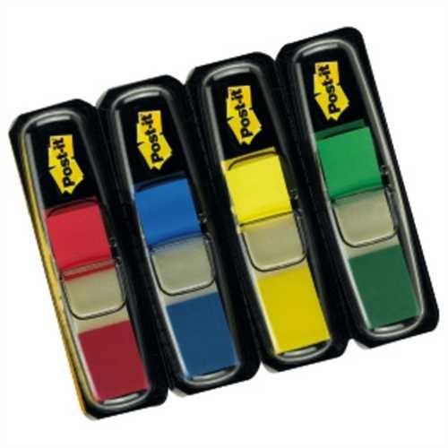Post-it Haftmarker Index Mini 683, blau/gelb/grün/rot, 35 Blatt (4 Stück)