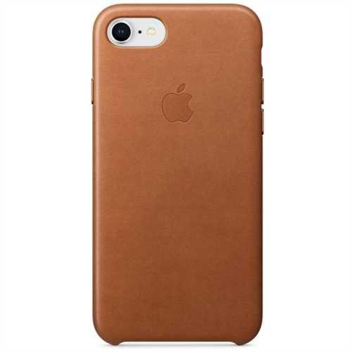 APPLE Smartphonerahmen, für APPLE iPhone 8 / 7, Leder, sattelbraun