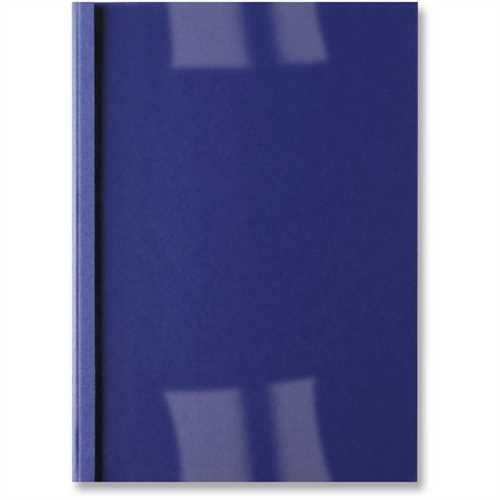 GBC Thermobindemappe ThermaBind™ LeatherGrain, 250 g/m², transparenter Vorderdeckel, A4, 3 mm, für: