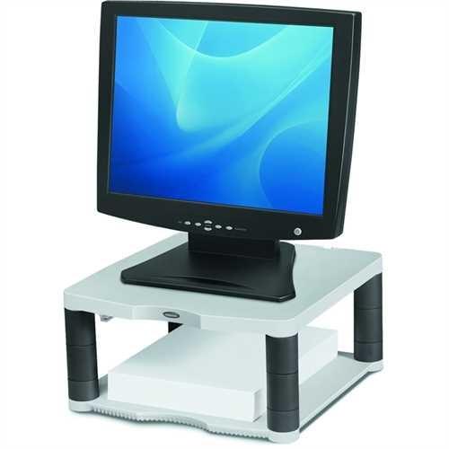 Fellowes Monitorständer Premium, 5fach höhenverstellbar, Tragfähigkeit: 36 kg, grau