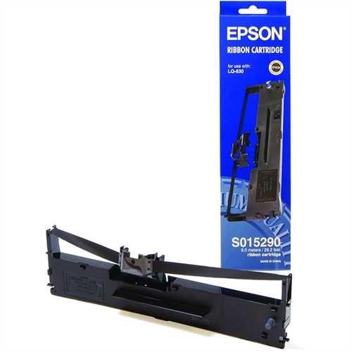 EPSON Farbband, C13S015307, Karbon, schwarz, 2 Mio. Zeichen