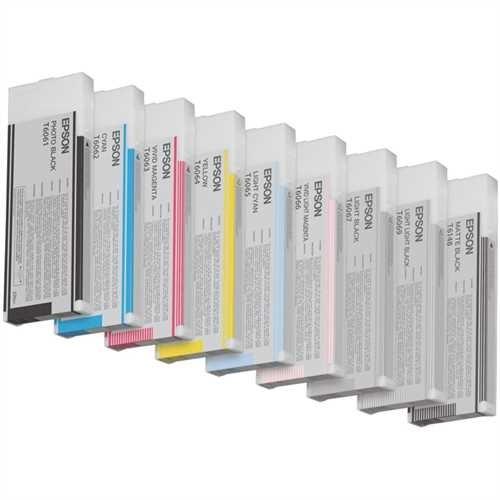 EPSON Tintenpatrone, C13T606C00, original, hellmagenta, 220 ml