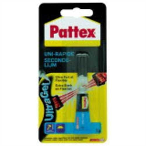 Pattex Sekundenkleber Ultra Gel, Tube, permanent (3 g)