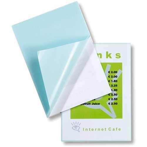 GBC Laminiertasche Peel'nStick™ Pouch, selbstklebend, A3, 303 x 426 mm, 0,125 mm, glänzend (100 Stüc