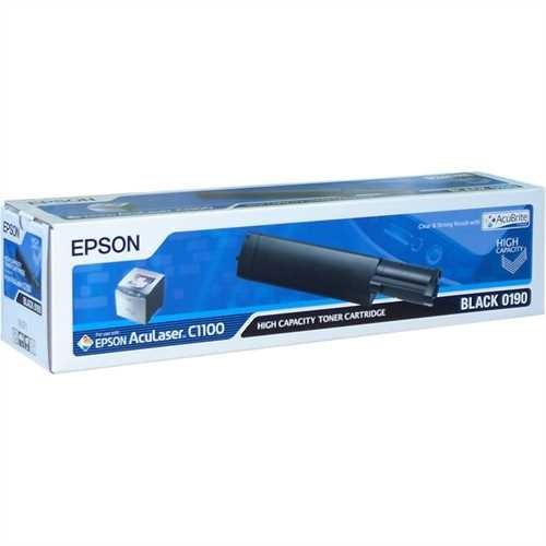 EPSON Toner, C13S050190, original, schwarz, 4.000 Seiten