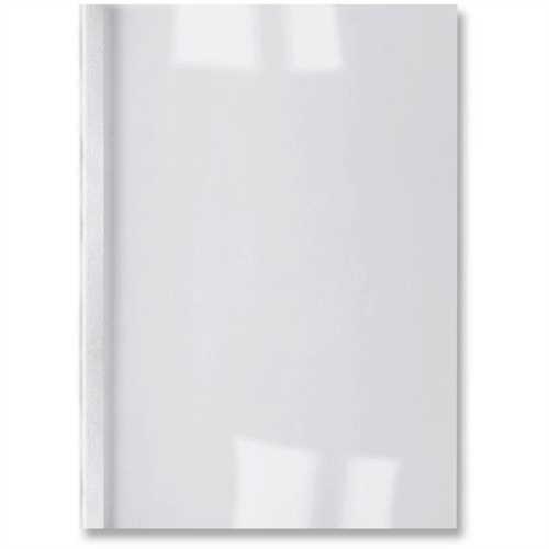 GBC Thermobindemappe ThermaBind™ LeatherGrain, 250 g/m², transparenter Vorderdeckel, A4, 6 mm, für: